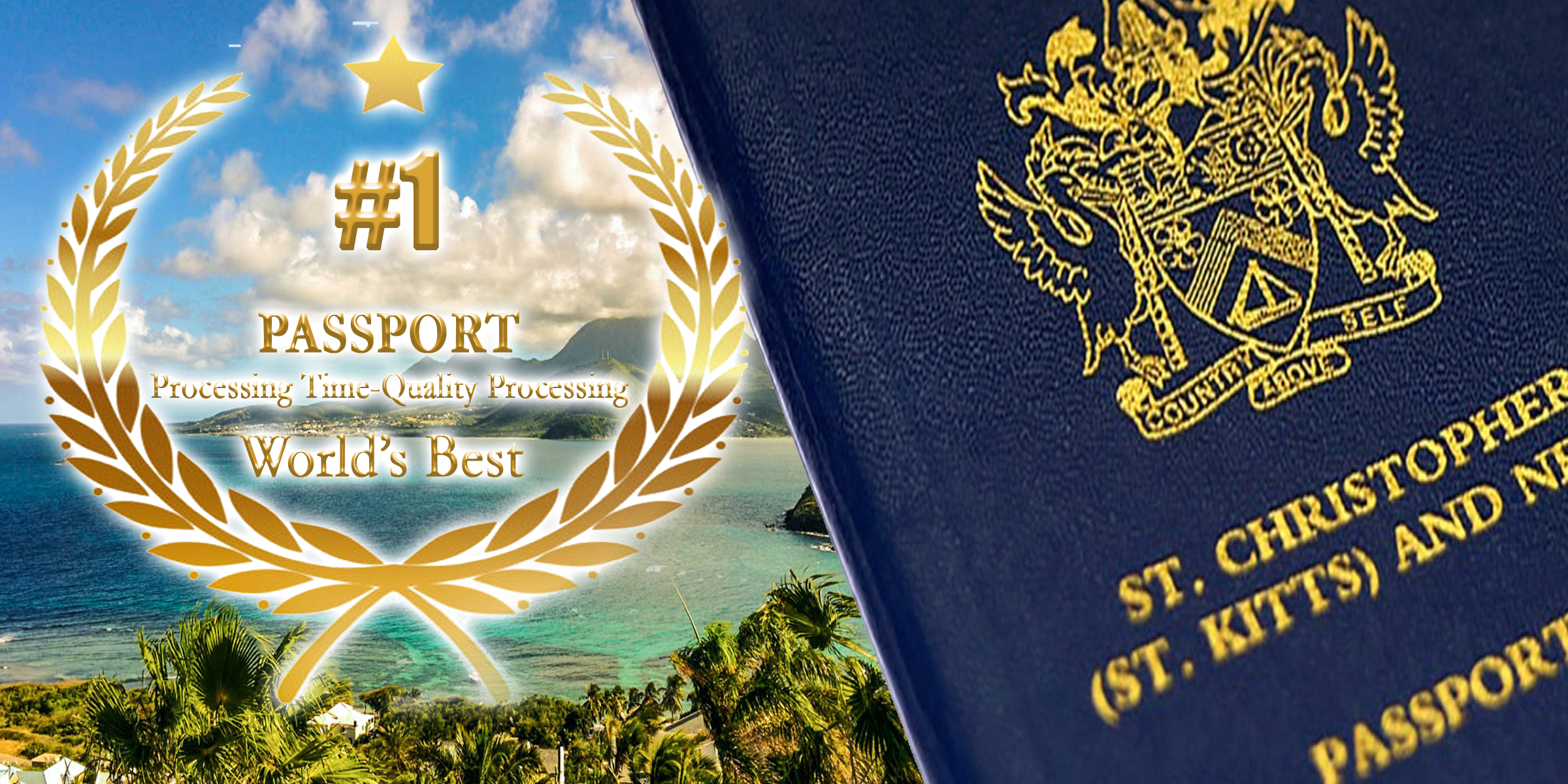 an award for st kitts and nevis quality time processing